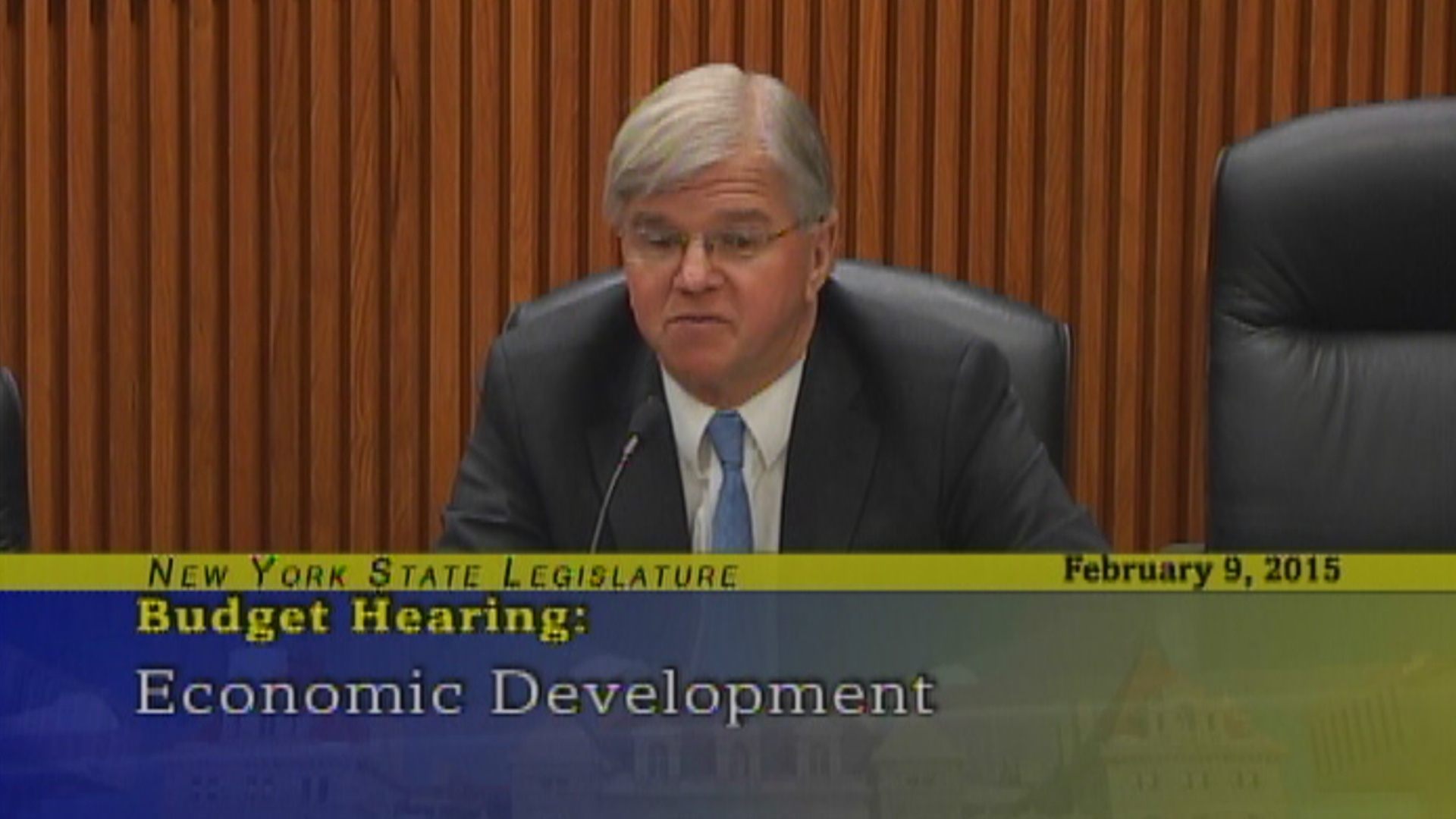 Economic Development Budget Hearing