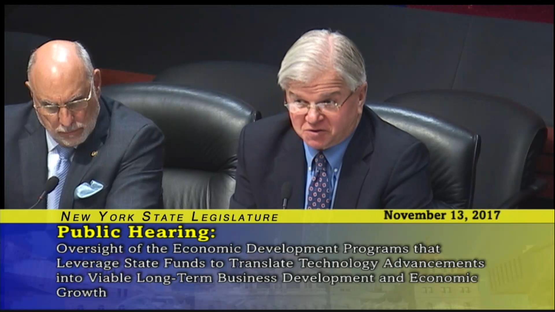 Oversight Economic Development Public Hearing