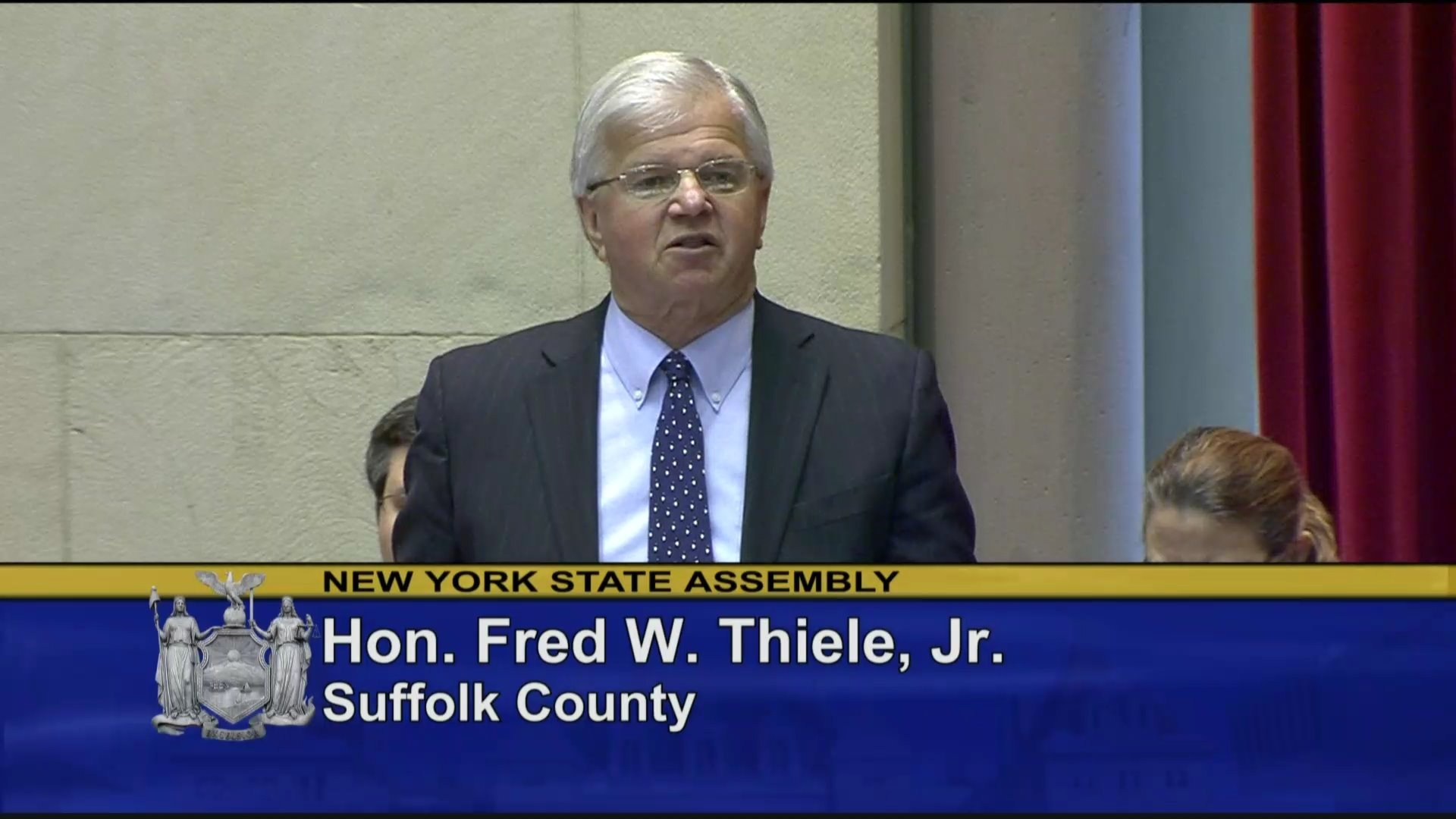 Assemblyman Thiele on Zone Pricing of Gas