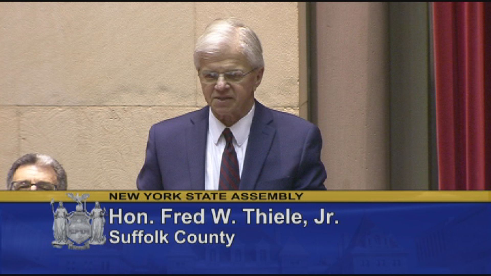 Thiele Discusses NY State Budget