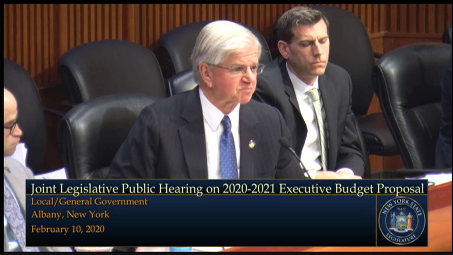 2020 Joint Budget Hearing on Local/General Government