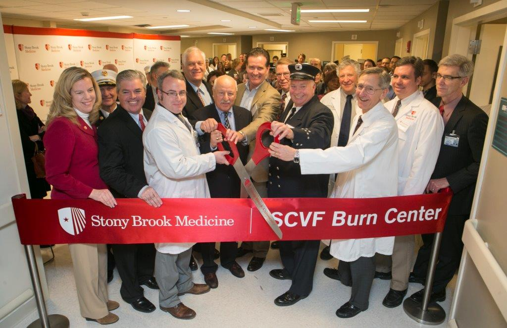 Grand Opening of the renovated and expanded Suffolk County Volunteer Firefighters Burn Center at Stony Brook Medicine
