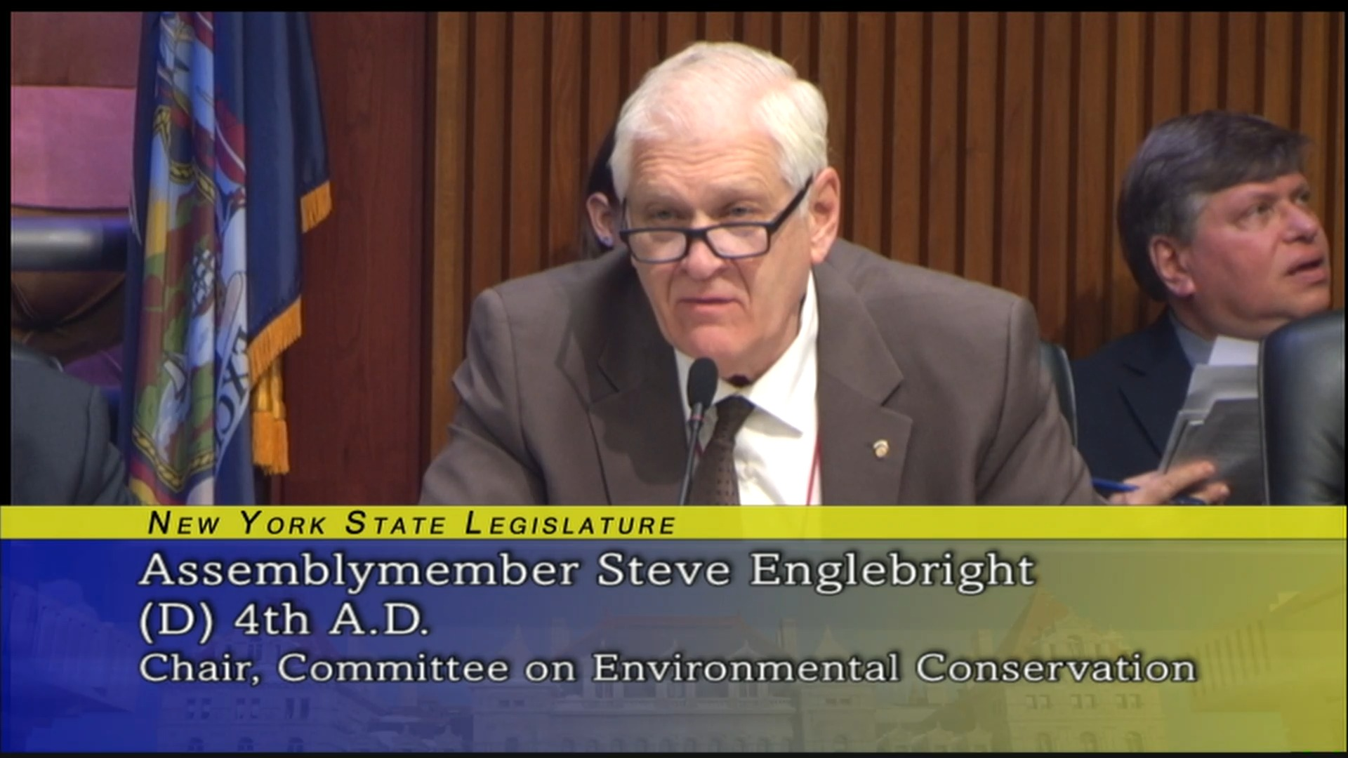 Englebright Questions the NYS Department Environmental Conservation