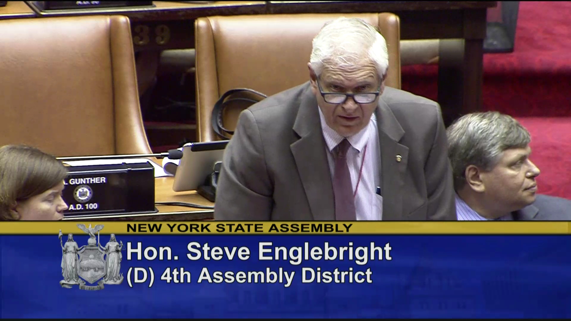 Assemblymember Englebright on the Passage of a NYS Green Amendment