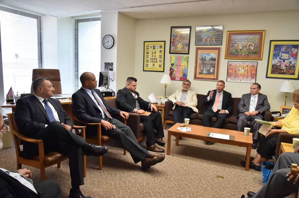 Assemblyman Ramos brought together a group of clergy from around the 6th district to meet with Deputy Commissioner Karim Camara of the NYS Office of Faith Based Community Development Services. The meeting served as an introduction of the clergy to this new office established by the governor and helped construct a bridge between religious groups and government leaders.