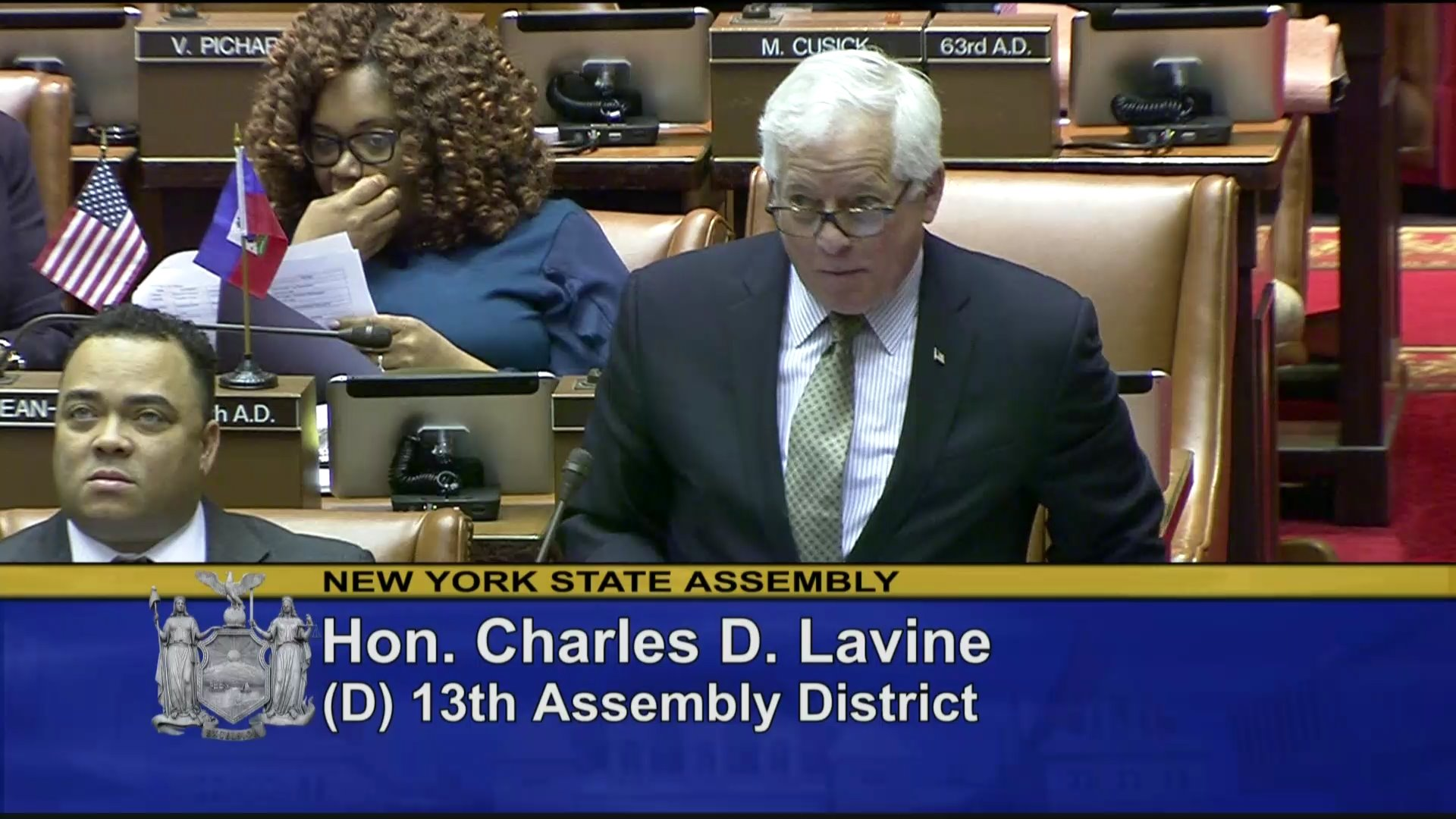 Lavine Speaks on Democracy Protection Act