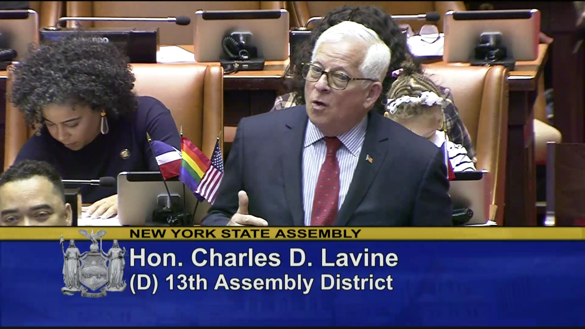 Assemblymember Lavine Fights For New Yorkers