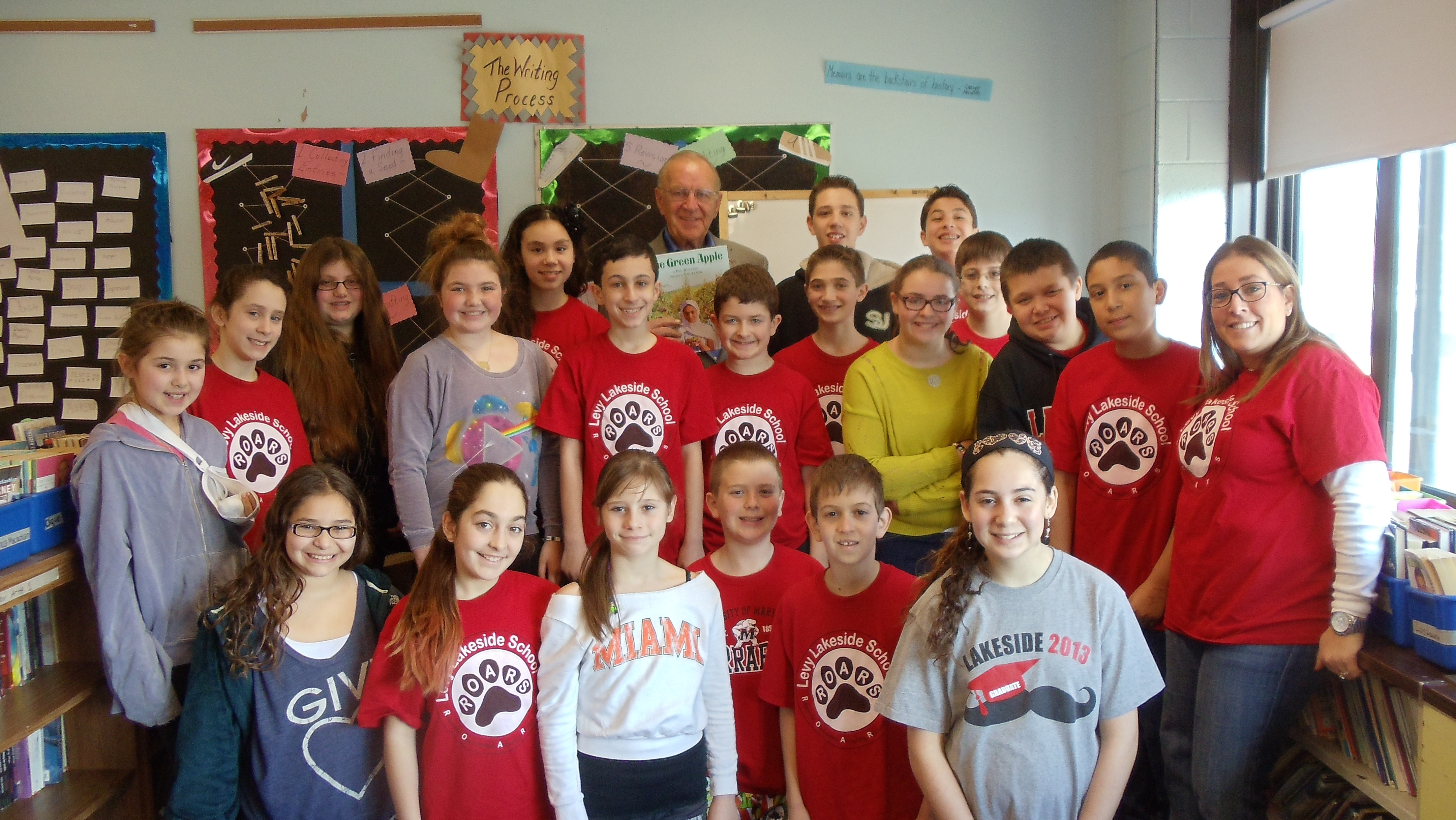 "Assemblyman Dave McDonough (R,C,I-Merrick) joined the sixth grade class at Levy-Lakeside School, where he read ""One Green Apple"" as part of the Community Read Aloud Celebration. The program promotes cultural diversity and understanding in schools."