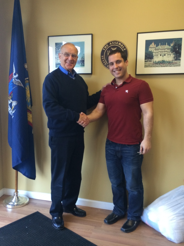 I met with Frank Lombardo, a student at NYIT, who is completing his Master's Degree in Occupational Therapy. We discussed the role of Occupational Therapists in drug and alcohol abuse treatments.