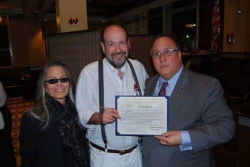 Assemblyman Michael Montesano (R, I, C – Glen Head) joined Ben's Kosher Delicatessen Restaurant and Caterers owners Ronnie and Cindy Dragoon, along with fellow patrons, at its Greenvale location on February 28. The occasion was a reunion celebration marking the popular deli's 40th anniversary. Since the original location in Baldwin has since closed, the event took place at the Greenvale venue.