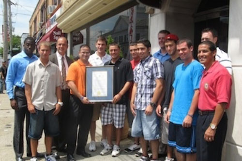 Assemblyman Ra honors the H. Carey High School's varsity baseball team, the Carey Seahawks, as the 2011 Long Island baseball champions. This is the first county title and first county championship for the Carey Seahawks.