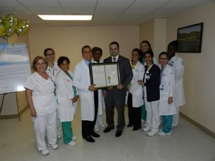 Assemblyman Ed Ra honors Nurses Week by recognizing Franklin Hospital.