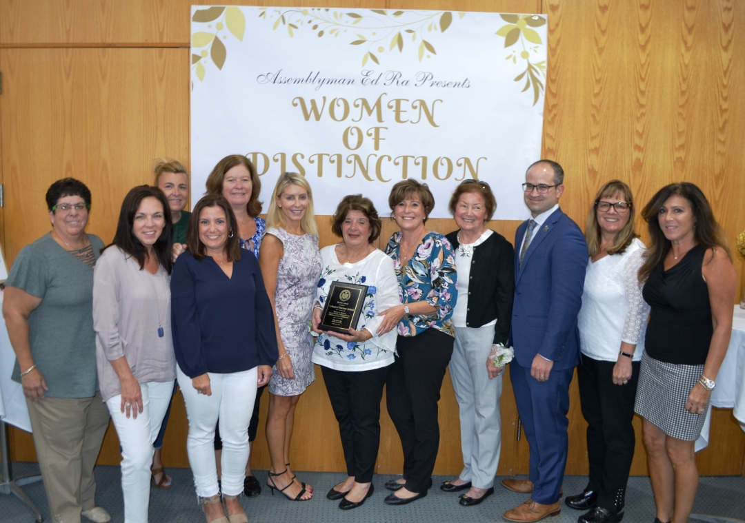 Assemblyman Ed Ra (R,C,I-Franklin Square) recently held his annual Women of Distinction Ceremony at the Westbury Public Library. Ra honored educators, volunteers, civic-minded entrepreneurs and public
