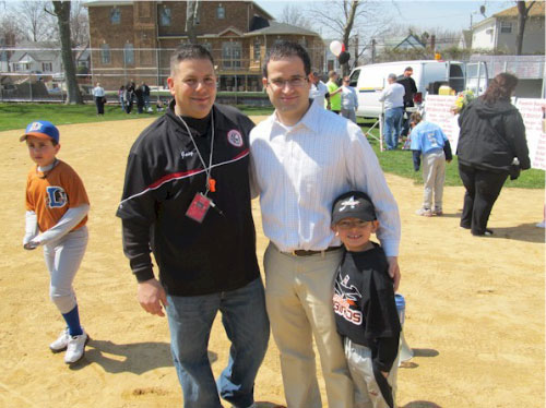 Franklin Square Little League Opening Day.