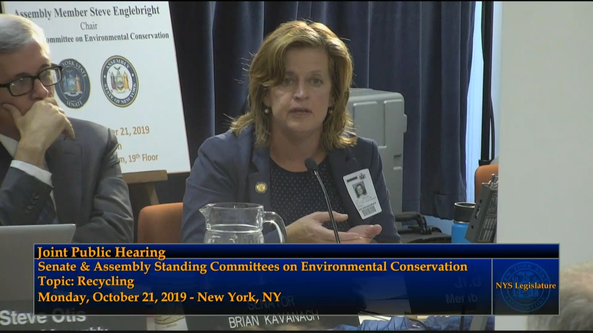 Public Hearing On Recycling Related Issues