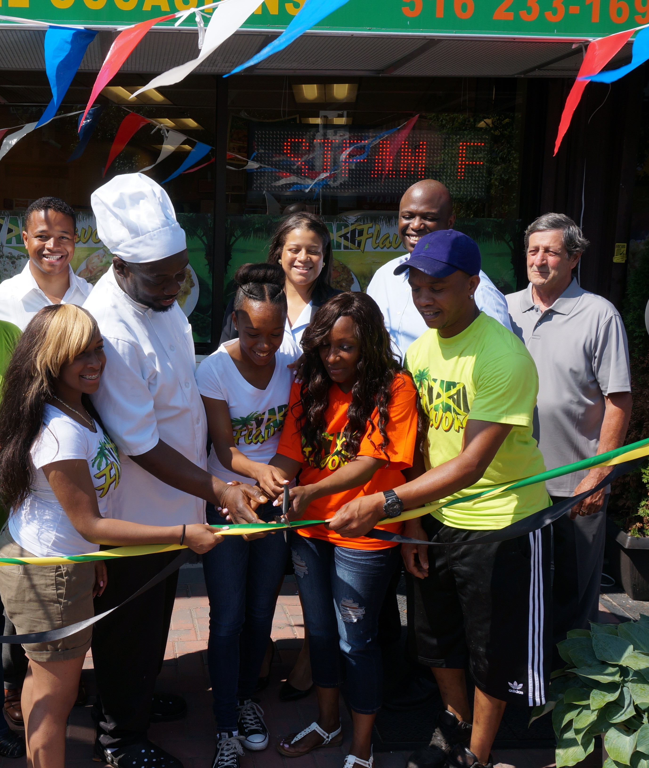 Assemblywoman Solages welcomes Yard Flavors to the Elmont business community.