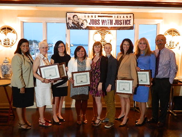 Assemblywoman Solages celebrates Long Island Jobs with Justice 10th year anniversary
