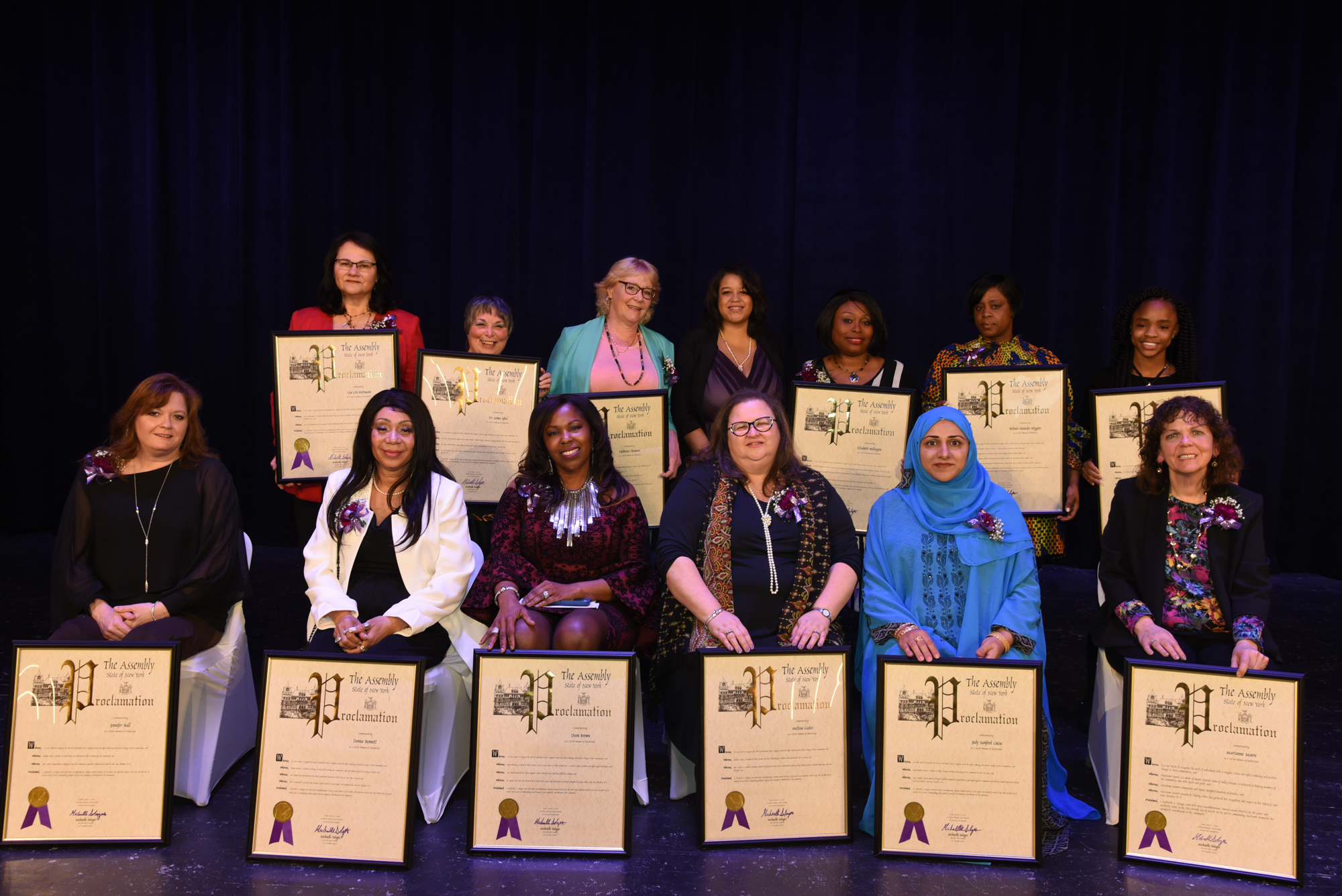 Assemblywoman Michaelle C. Solages hosted her 5th Annual Women of Distinction Luncheon to honor women who have gone above and beyond to enhance the 22nd Assembly District. Please feel free to call ou
