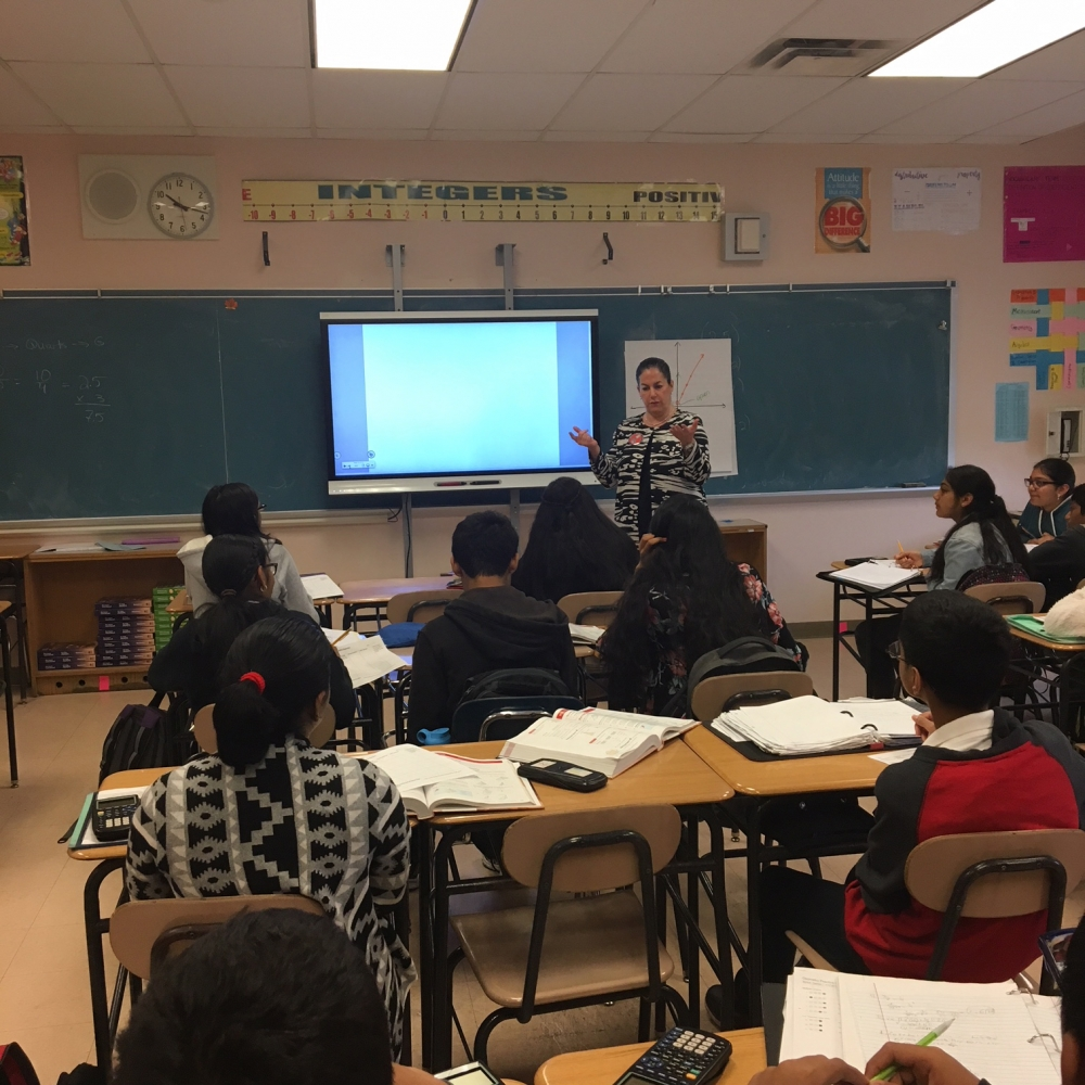 Assemblywoman Stacey Pheffer Amato participated in Middle School 137's Career Day this past Friday. Pheffer Amato spoke to an eighth-grade classroom about her work both in the district and Albany