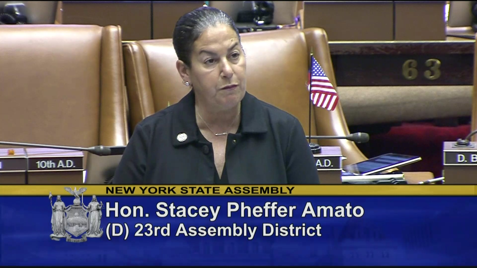 Pheffer-Amato Speaks On Standards for Hurricane Windstorm Deductibles