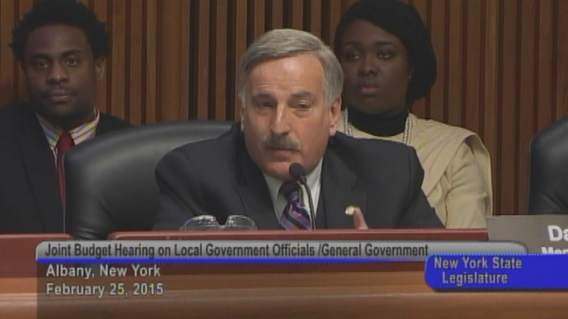 Local Government Officials/General Government Budget Hearing
