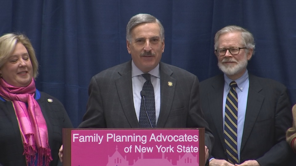 Weprin Supports Family Planning