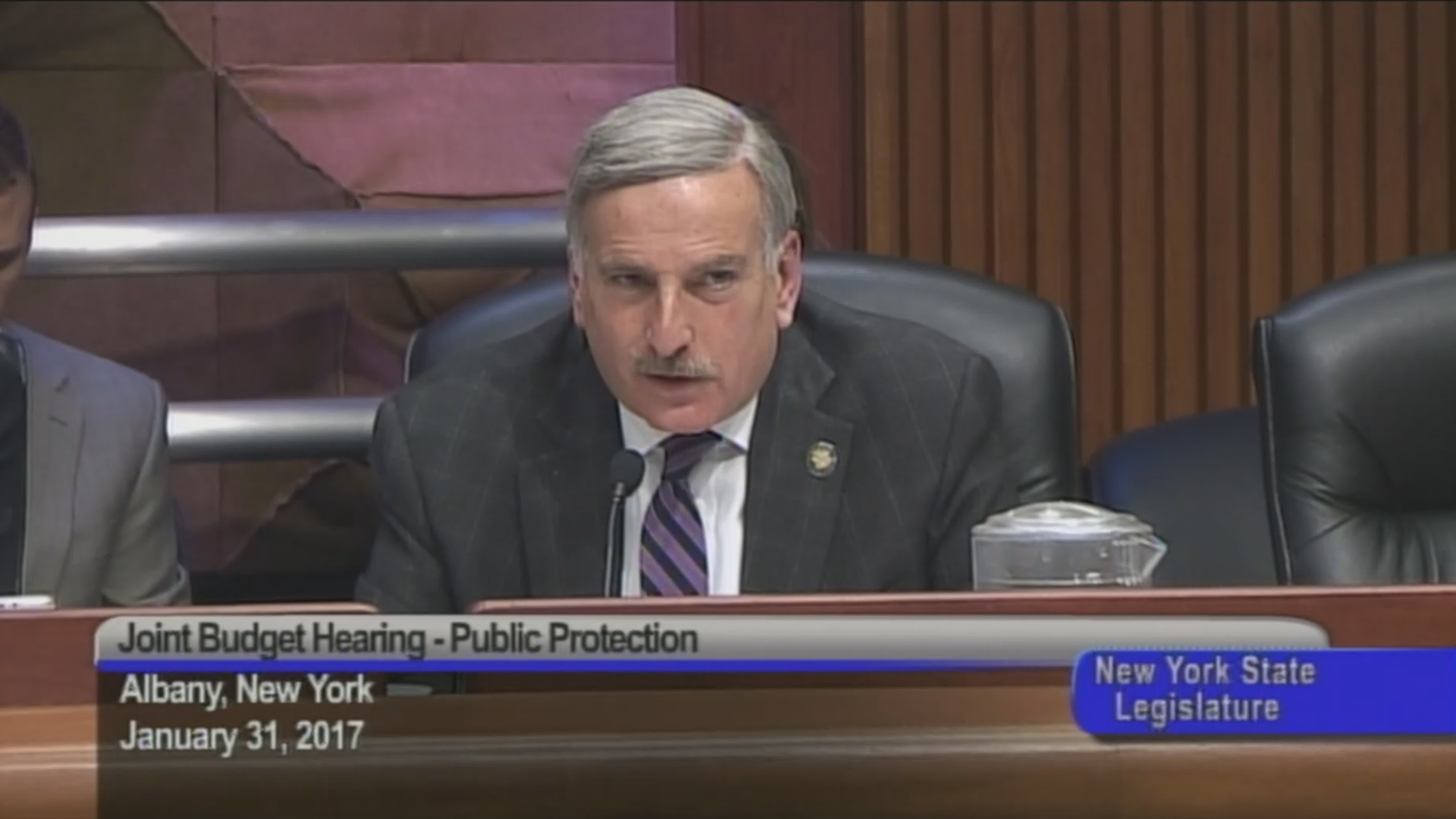 Budget Hearing On Funding Public Protection