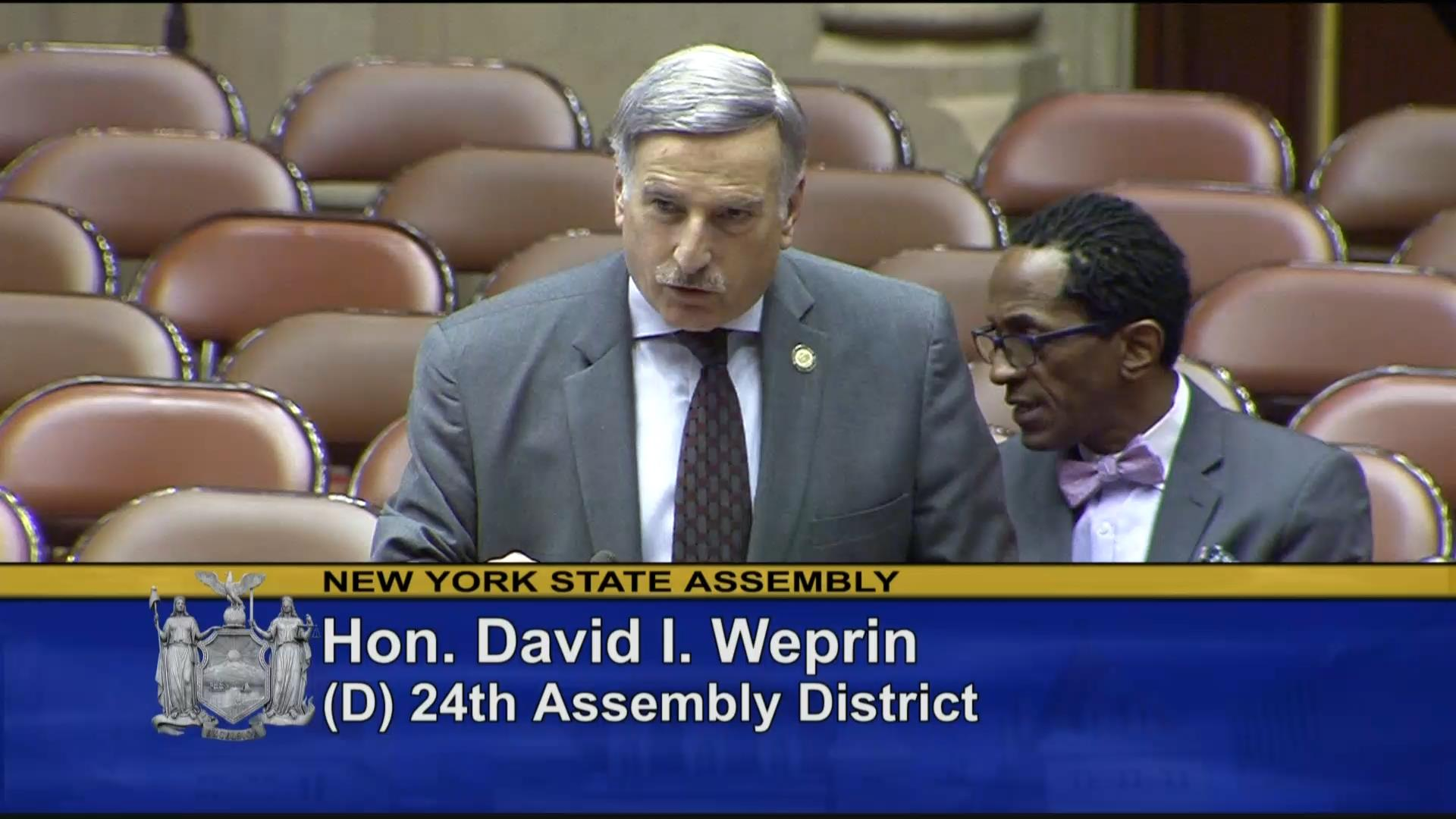 Weprin: Keeping Young Adults Safe