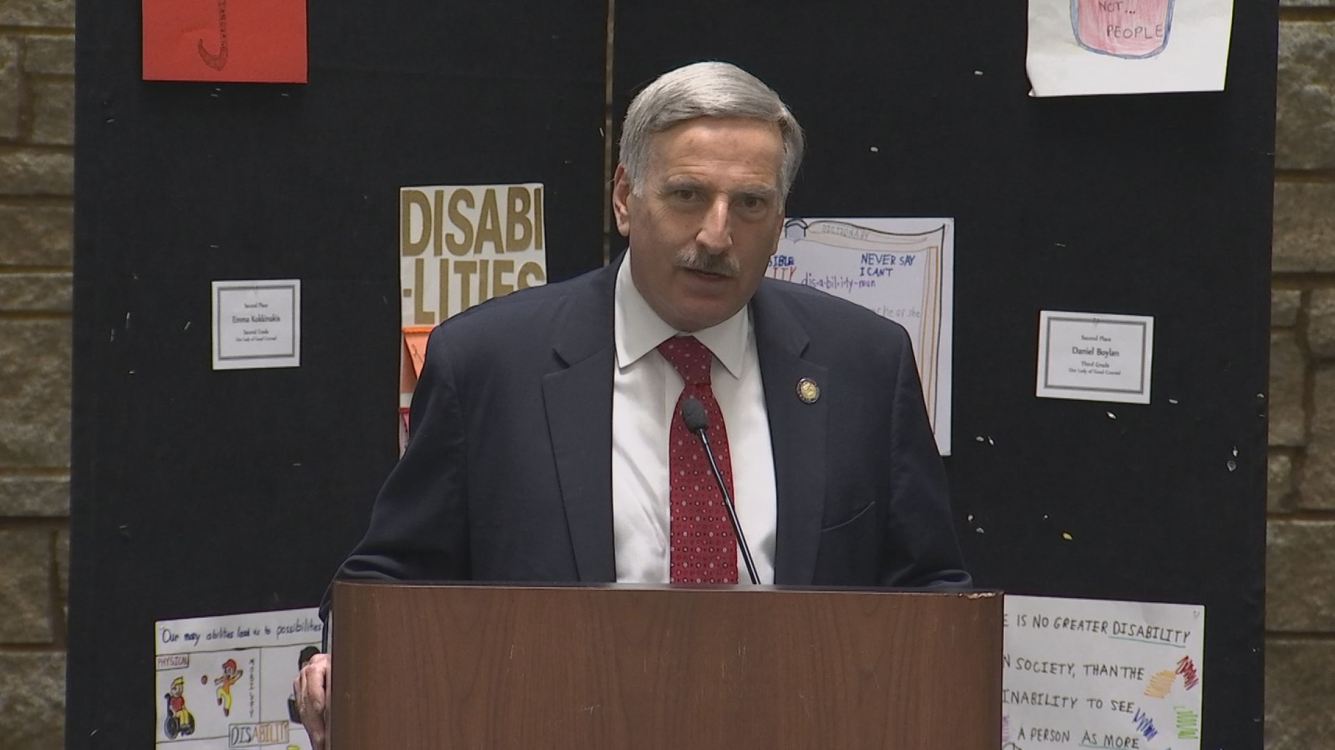 Weprin On Disabilities Awareness Day