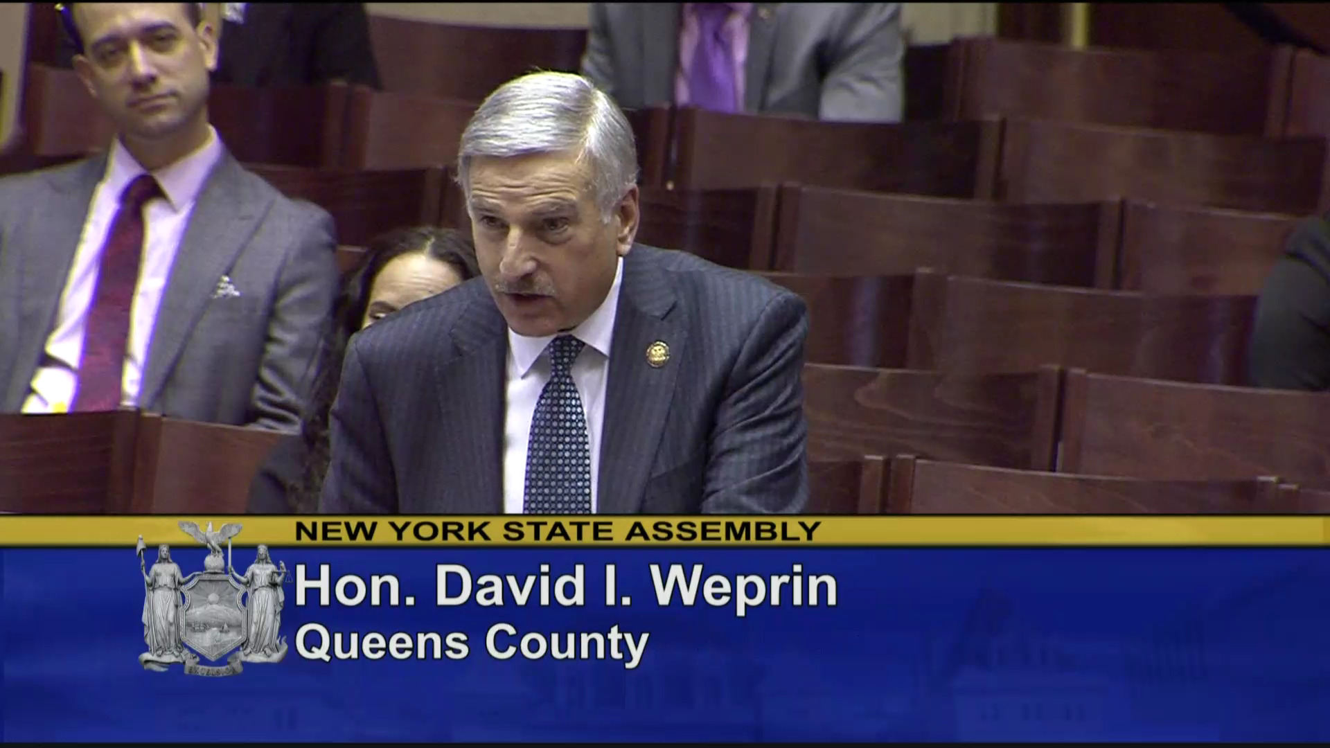 Weprin Discusses Visitation Rights for Correctional Facilities