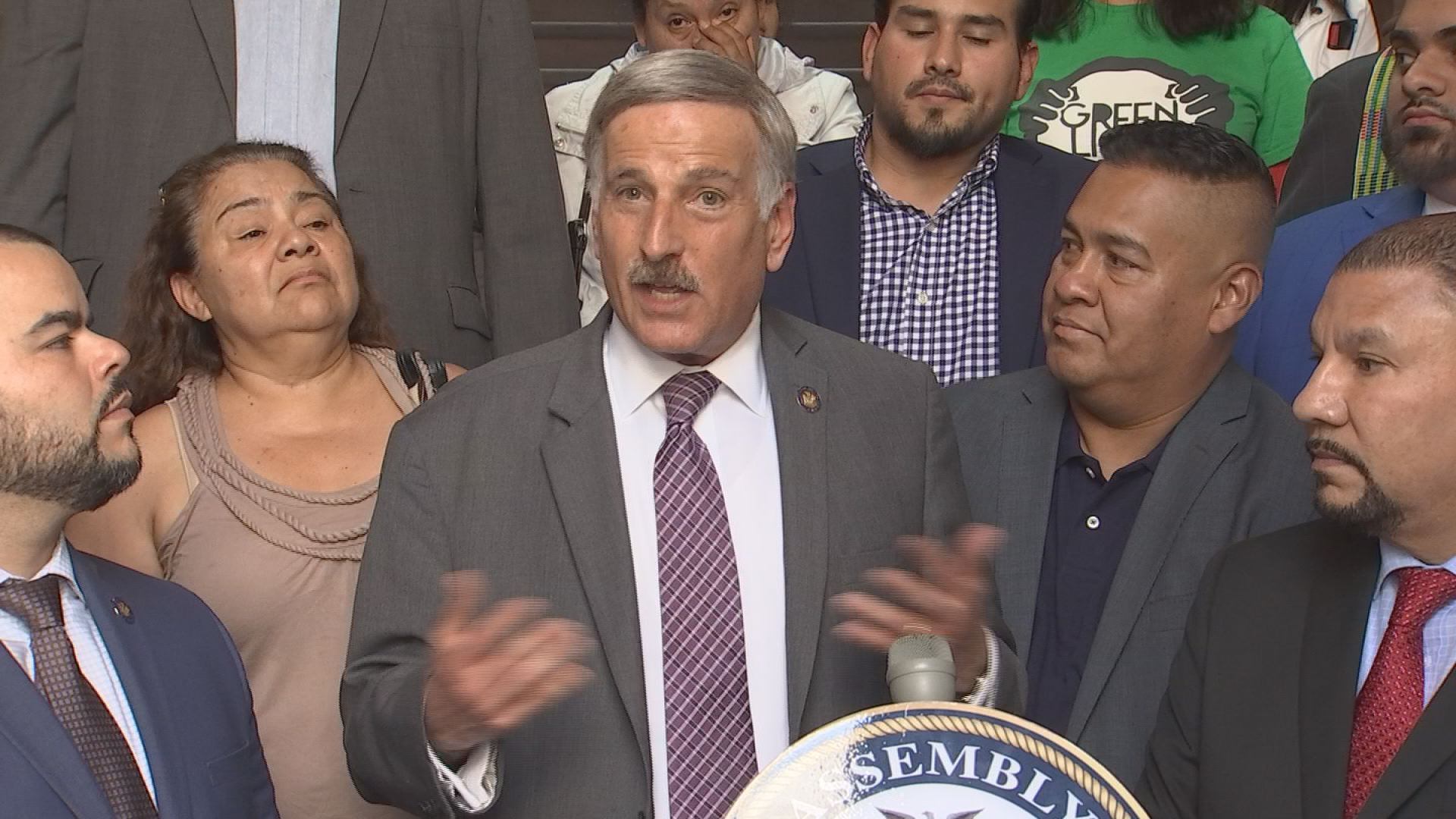 Weprin Supports Green Light Bill