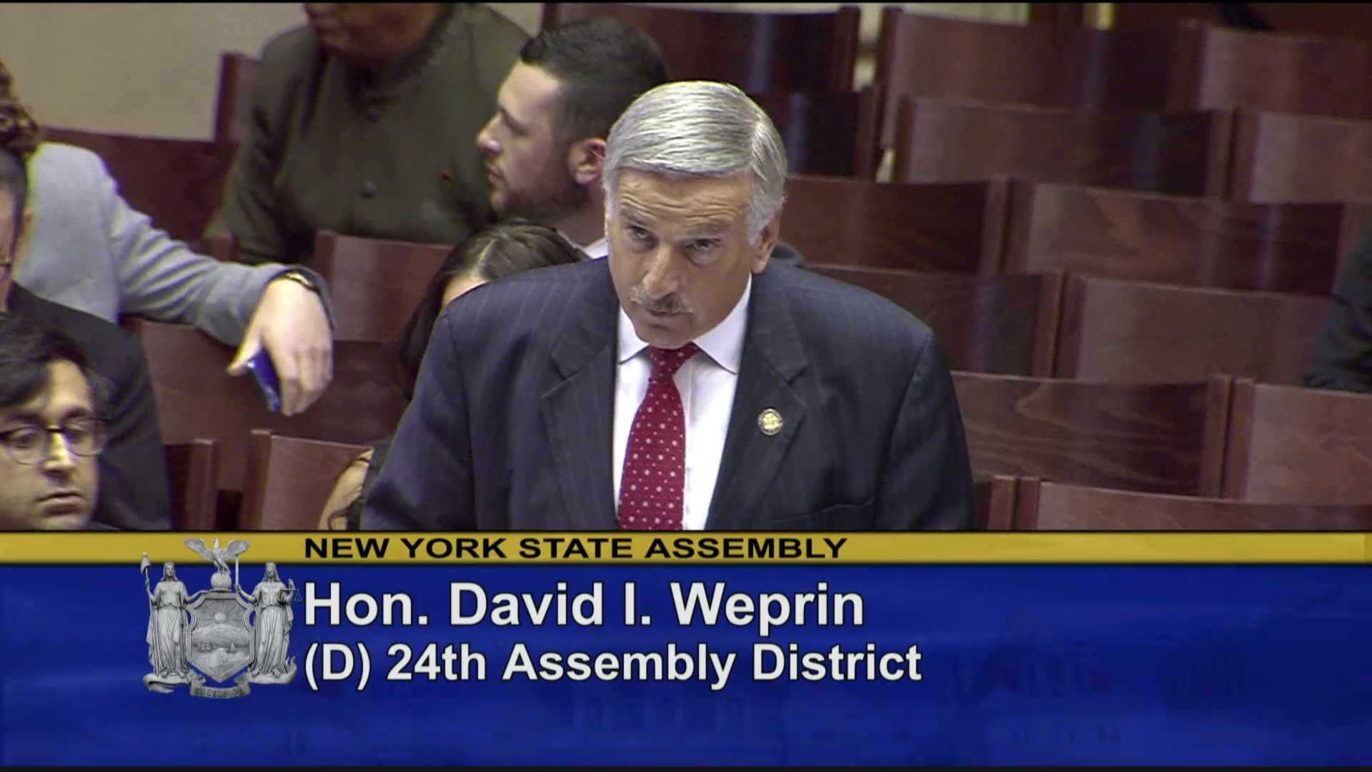 Weprin Discusses the Rights of Adult Adoptees