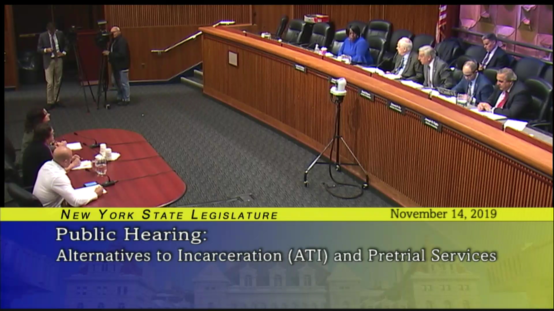 Public Hearing on Alternatives to Incarceration (ATI) and Pretrial Services (2)