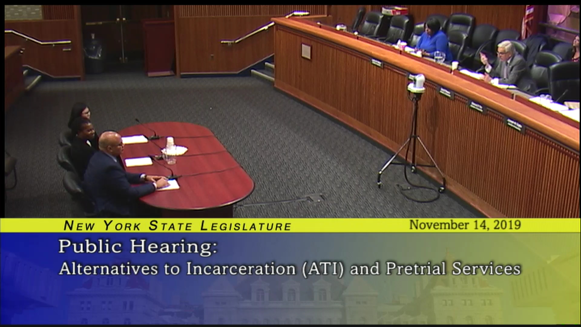 Public Hearing on Alternatives to Incarceration (ATI) and Pretrial Services (3)