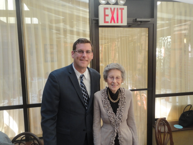 On Monday, October 21, 2013, Assemblyman Braunstein attended the Deepdale CARES Annual Luncheon, hosted by Deepdale CARES NORC-SSP and Samuel Field Y. Assemblyman Braunstein is pictured here with Deep