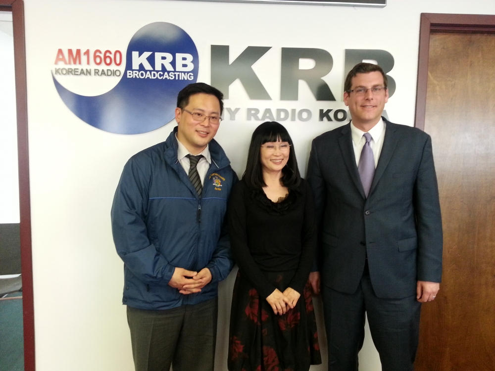 On April 11, 2014, Assemblyman Braunstein was interviewed by Korean Radio Broadcasting regarding efforts to pass A.8214, which would require all new textbooks to refer to the Sea of Japan also as the