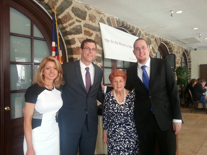 Assemblyman Braunstein joined the Center for the Women of New York (CWNY) at its 27th Annual Luncheon.