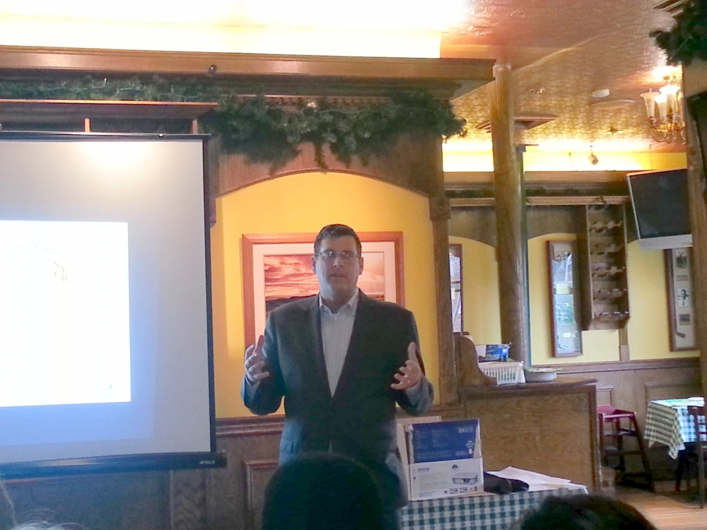 On July 15, 2014, Assemblyman Braunstein spoke at the Bayside Village BID's 2014 Annual Meeting.