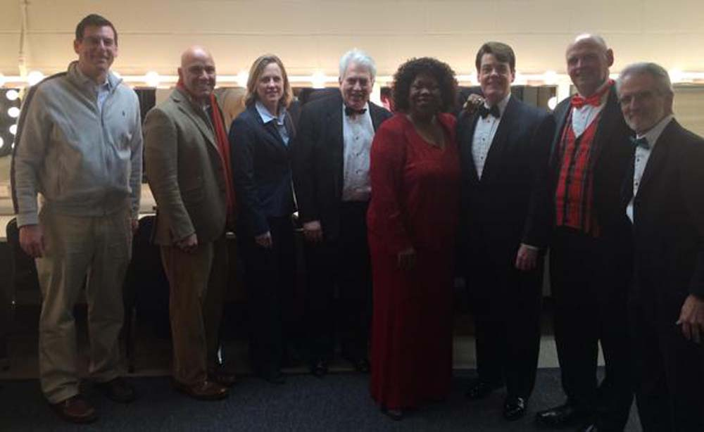 On December 21, 2014, Assemblyman Braunstein attended the Annual Holiday Concert of the Oratorio Society of Queens with his colleagues, Borough President Melinda Katz and Council Member Paul Vallone.