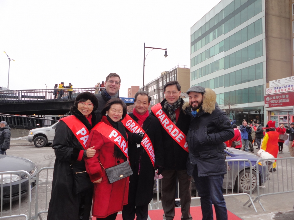 On February 21, 2015 Assemblyman Braunstein attended the Flushing Chinese Business Association (FCBA) / Korean American Association of Queens (KAAQ) Lunar New Year Parade in Flushing. Assemblyman Brau