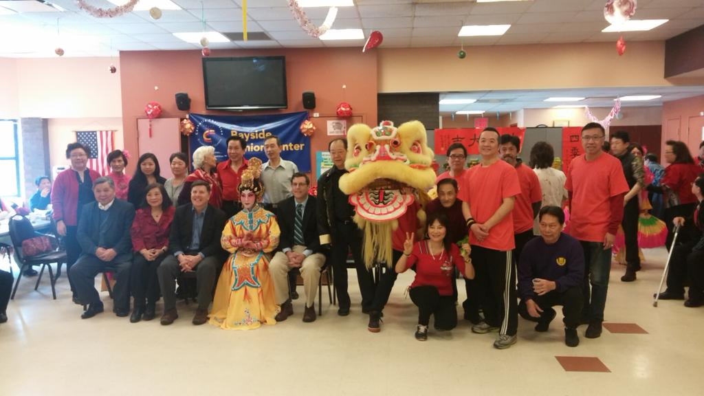 On March 7, 2015, Assemblyman Braunstein attended the Key Luck Club's Lunar New Year Celebration. Assemblyman Braunstein is pictured with Council Member Mark Weprin, Key Luck Club President Irene Cheu