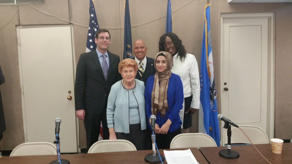 On April 30, 2015, Assemblyman Braunstein participated in a Queens Public Television and Center for the Women of New York (CWNY) panel on the issue of Violence Against Women, where he discussed his re