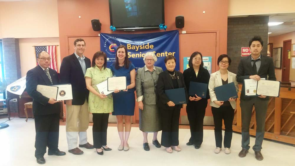 On May 14, 2015, Assemblyman Braunstein co-sponsored Assemblywoman Nily Rozic's Asian American & Pacific Islander Heritage Celebration with Senator Toby Ann Stavisky. Assemblyman Braunstein is picture