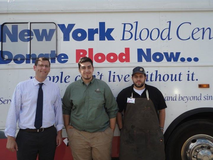 On August 13, 2015, Assemblyman Braunstein sponsored his 3rd Annual Summer Blood Drive in conjunction with the New York Blood Center. Assemblyman Braunstein is pictured with Panera Bread at Bay Terrac