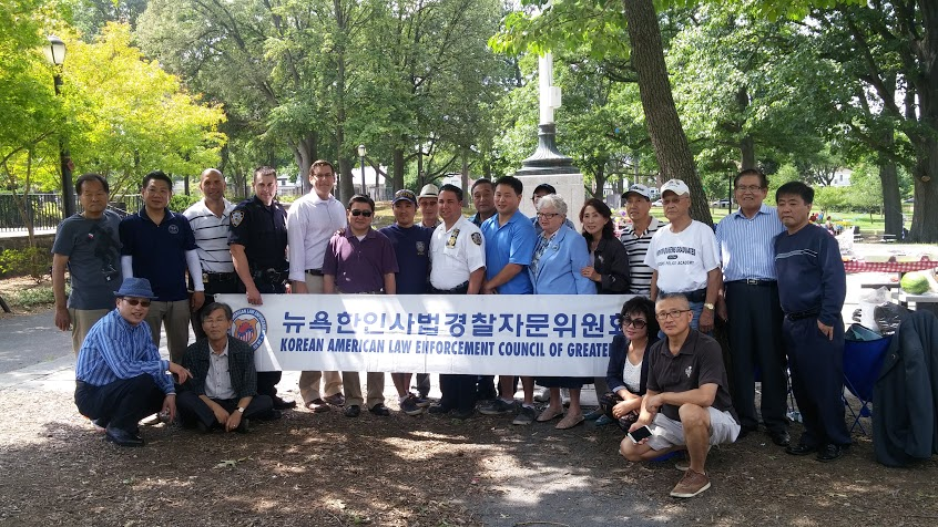 On August 29, 2015, Assemblyman Braunstein attended the Korean American Law Enforcement Council's BBQ at Cunningham Park along with Senator Toby Ann Stavisky, Assemblyman Ron Kim, Council Member Peter