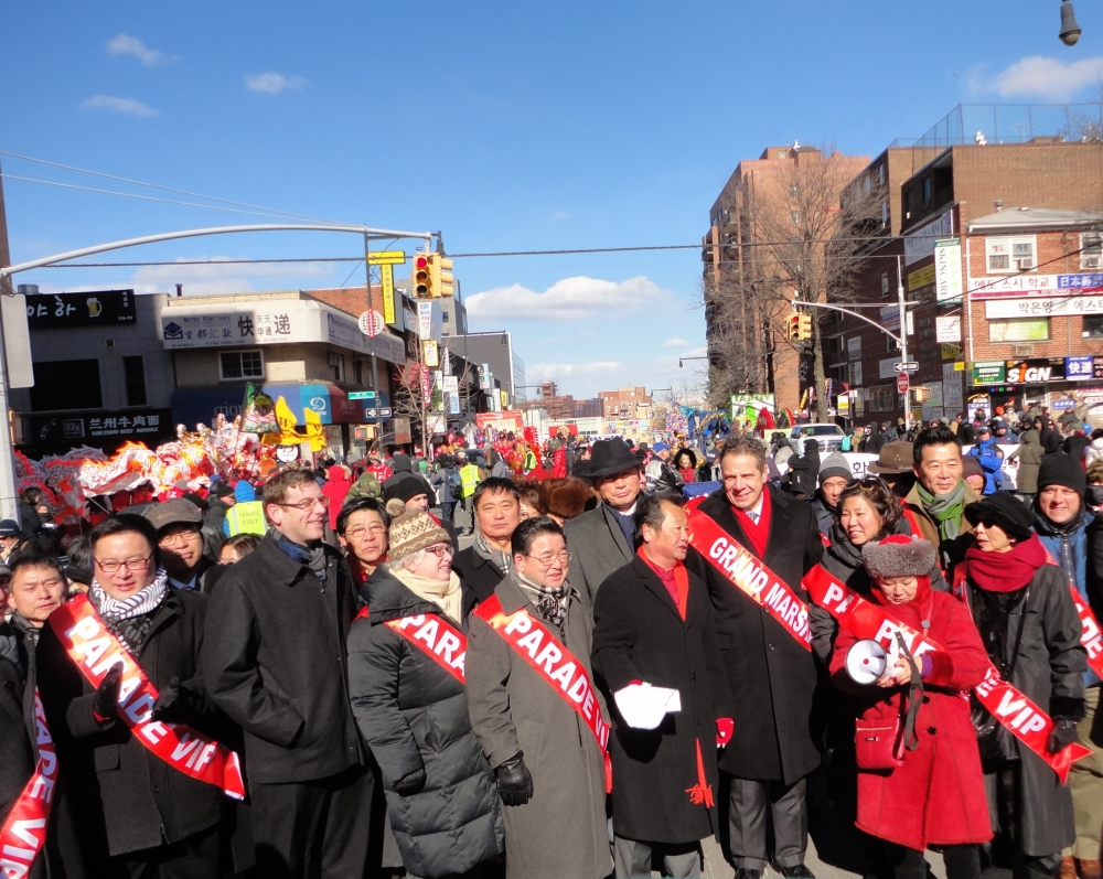 On February 13, 2016, Assemblyman Braunstein attended the Flushing Chinese Business Association / Korean American Association of Queens Lunar New Year Parade in Flushing.