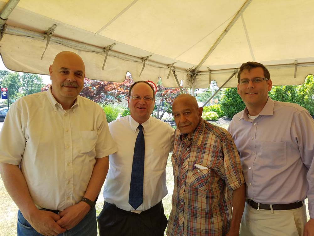 On June 24, 2016, Assemblyman Braunstein attended the Glen Oaks Village Annual Company BBQ.