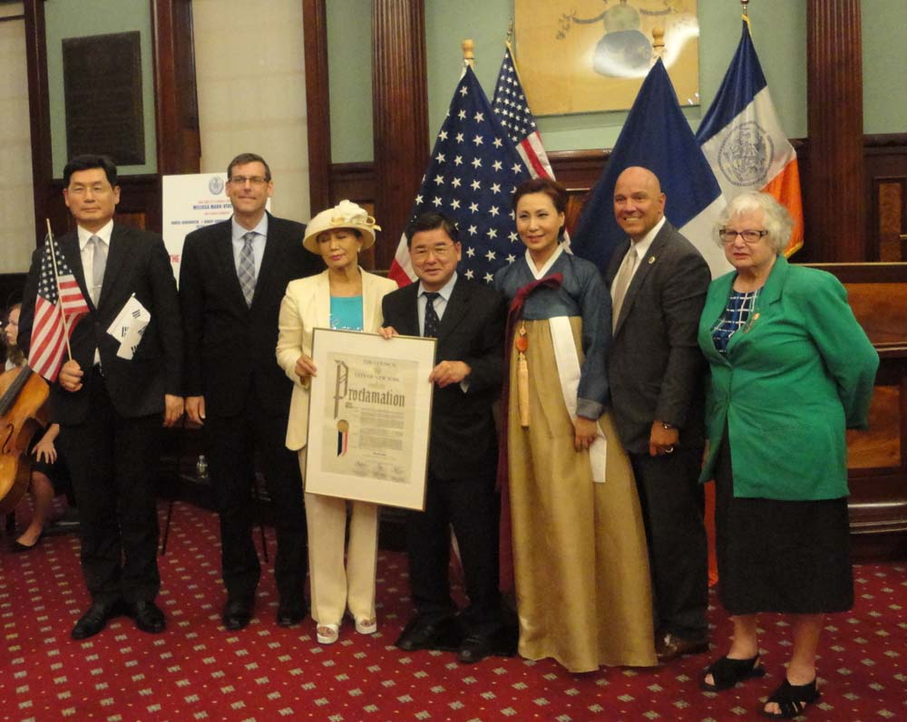 On August 15, 2016, Assemblyman Braunstein attended the New York City Council's 71st Annual Korean Independence Day celebration.
