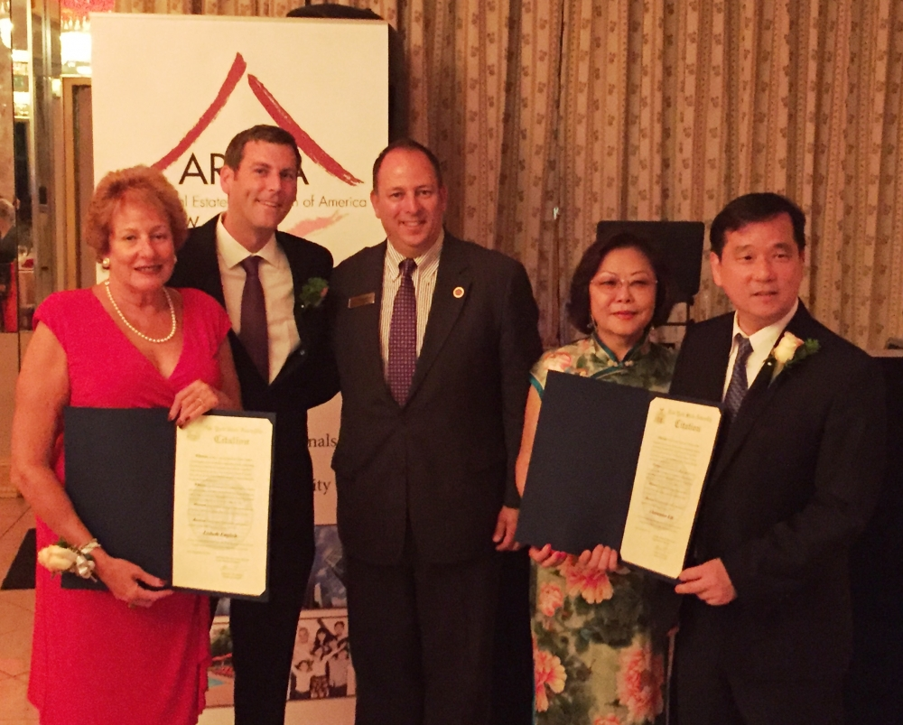 On September 22, 2016, Assemblyman Braunstein presented New York State Assembly Citations to the honorees at the AREAA New York East Chapter 4th Annual Gala.