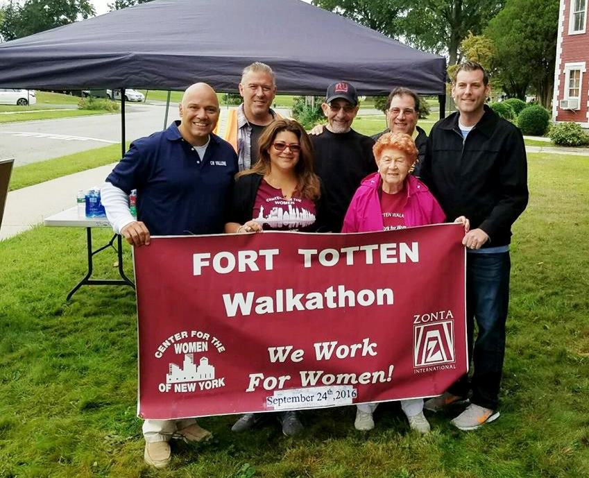 On September 24, 2016, Assemblyman Braunstein joined Council Member Paul A. Vallone at the Center for the Women of New York's 8th Annual 3K Walkathon fundraiser at Fort Totten.